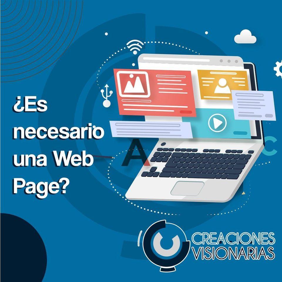 ¿Es Necesario un Sitio Web?