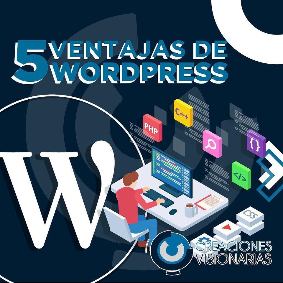 5 Ventajas de WordPress
