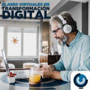 Clases virtuales de transformación digital, asesorías en linea y acompañamiento.